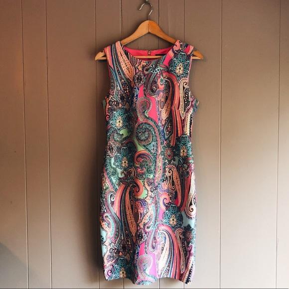 a5331494 Tommy Hilfiger Sleeveless Scuba Sheath Dress. M_5b7df9d0d365befad77c3502